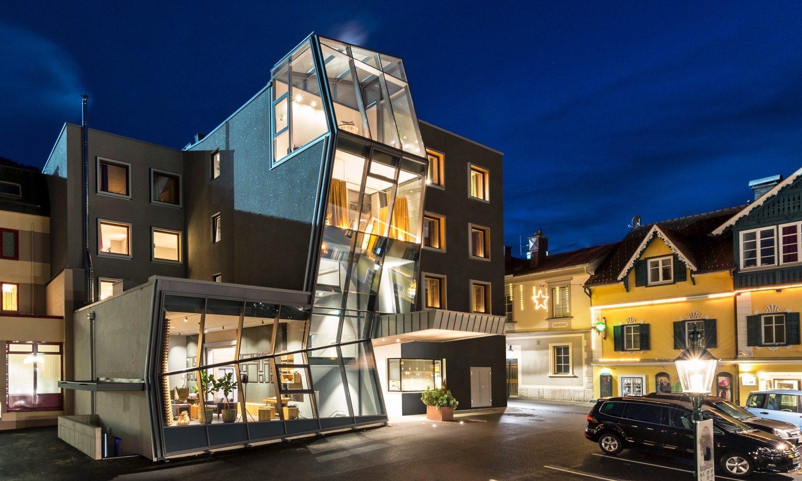 Stadthotel brunner in Schladming Zentrum