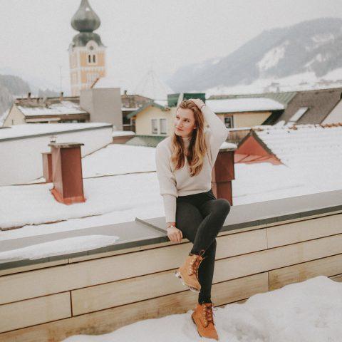 Dachterrasse Schladming Hotel Brunner