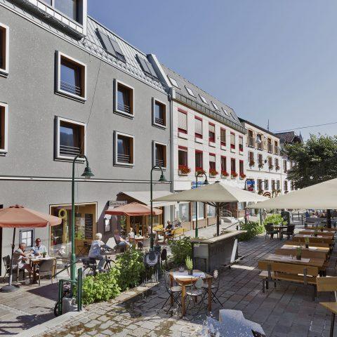 Gastgarten Hotel brunner Schladming